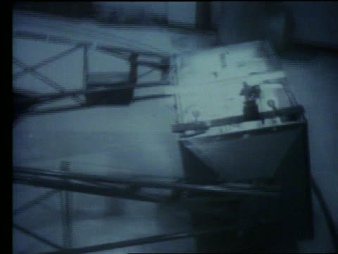 b/w high angle of astronaut in g-force test - g force stock videos & royalty-free footage