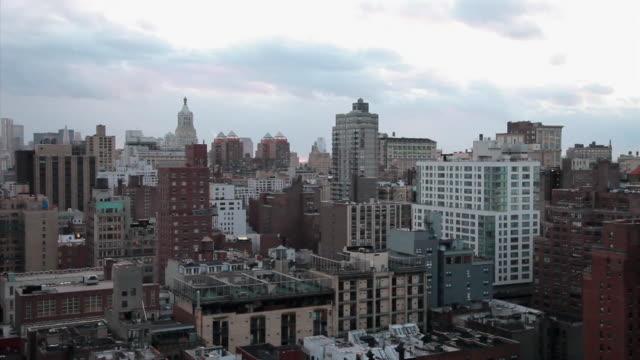 High Angle of the Manhattan skyline