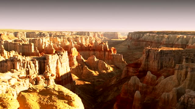 high angle time lapse over the grand canyon - valley stock videos & royalty-free footage