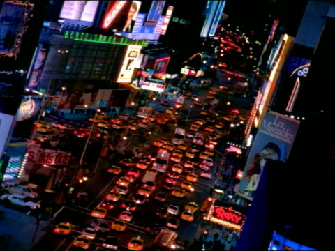 high angle - broadway manhattan stock videos and b-roll footage