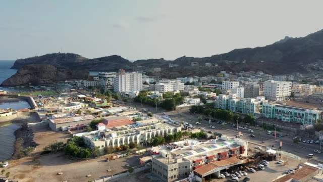 high angle view of aden - aden stock videos & royalty-free footage
