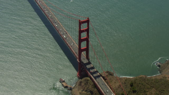 High Angle View Of Golden Gate Bridge