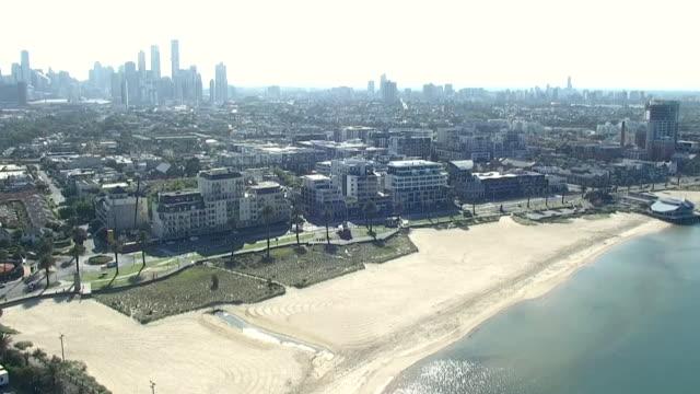 "high angle views of sydney during coronavirus lockdown - ""bbc news"" stock videos & royalty-free footage"