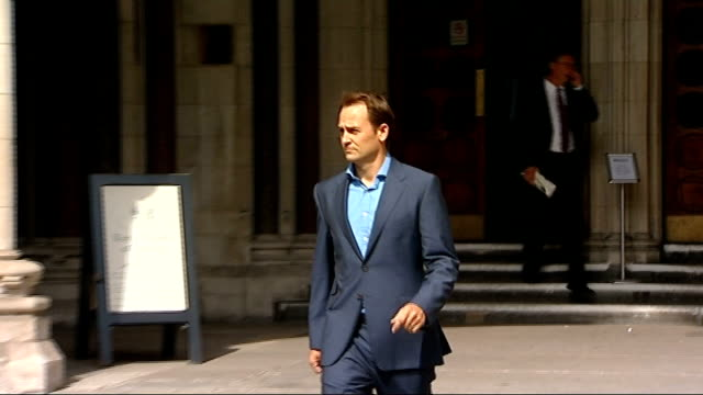 high court rules against bbc over top gear character the stig revealing true identity england london high court ext ben collins from court after... - biographie stock-videos und b-roll-filmmaterial