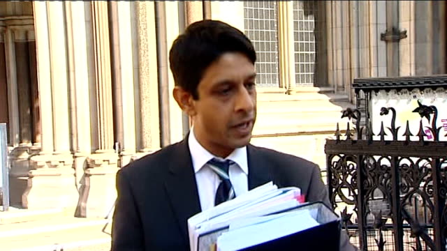 High court rules braindamaged woman will not be allowed to die ENGLAND London High Court EXT Yogi Amin interview SOT