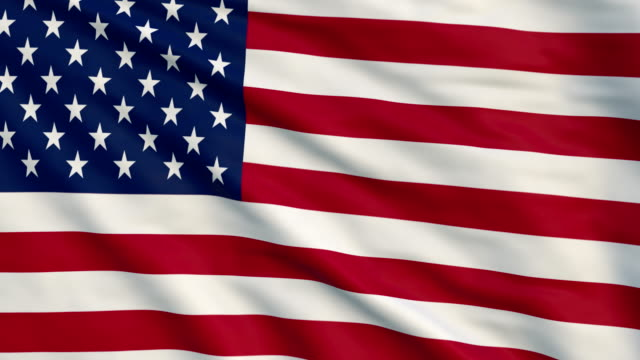 high detail flag uf usa - us flag stock videos and b-roll footage