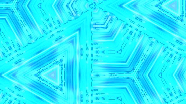 high energy kaleidoscopic forms mesmerize (loop). - vj演出点の映像素材/bロール