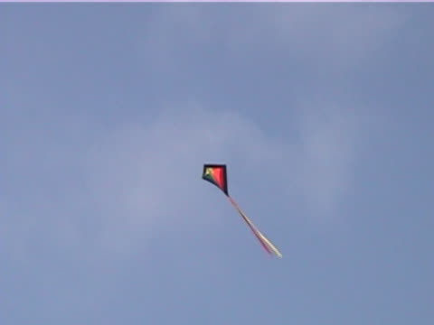 high flying kite - kite sailing stock videos and b-roll footage