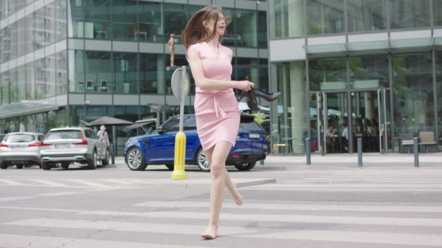 high heel pain solution. - urgency stock videos and b-roll footage