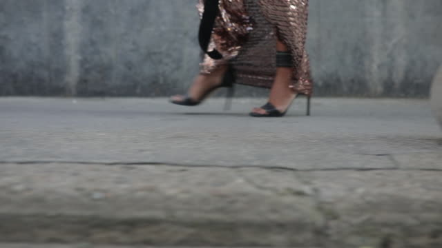 high heels - dress stock videos & royalty-free footage