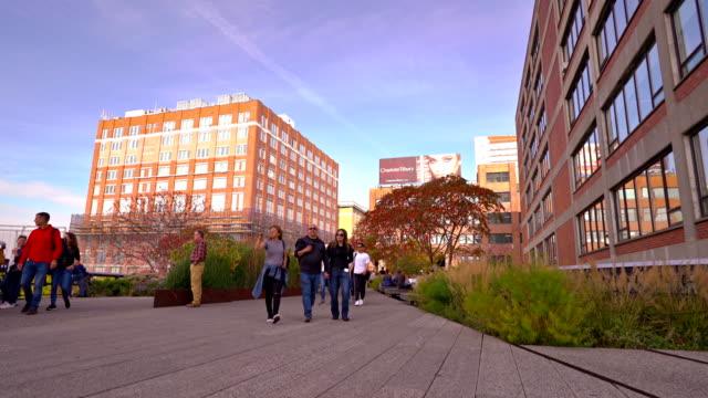 High Line park near 14th street