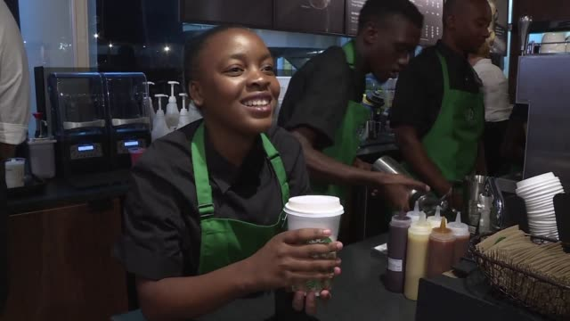 high operating costs and tight customer budgets have left us coffee giant starbucks needing a caffeine hit after it abandoned ambitious expansion... - caffeine stock videos & royalty-free footage