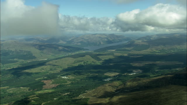 high over fort william - scotland stock videos & royalty-free footage