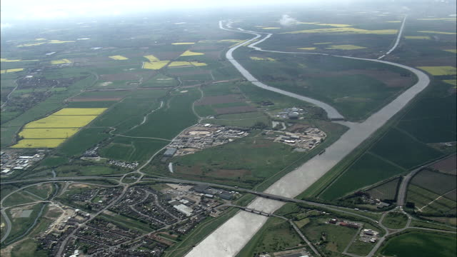 High Over King's Lynn  - Aerial View - England, Norfolk, King's Lynn and West Norfolk District, United Kingdom