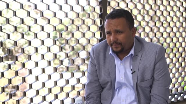 a high profile ethiopian activist at the centre of violence that left 16 people dead this accuses prime minister abiy ahmed of acting like a dictator... - horn von afrika stock-videos und b-roll-filmmaterial