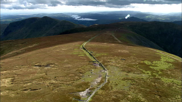 High Raise To High Street And Haweswater  - Aerial View - England, Cumbria, Eden District, United Kingdom