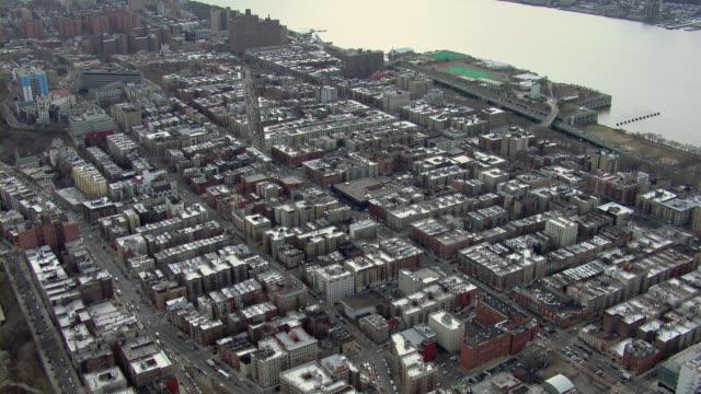 high rise buildings in harlem's hamilton heights neighborhood. - hamilton new york state stock videos & royalty-free footage