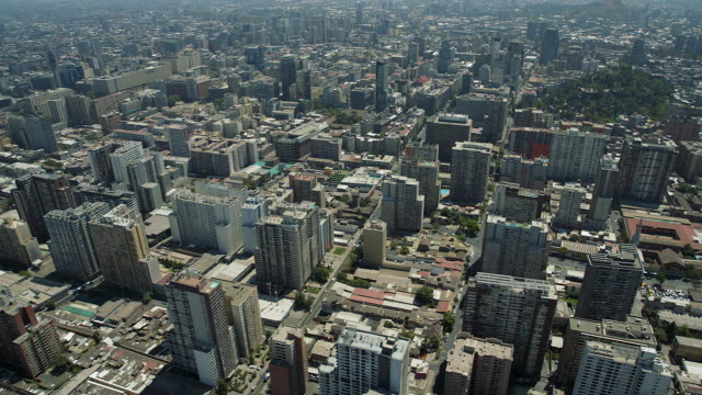 High Rise Buildings In Santiago Chile