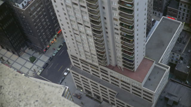 1969 ha ws tu high rise residential building and penthouse / manhattan, new york - penthouse stock videos and b-roll footage