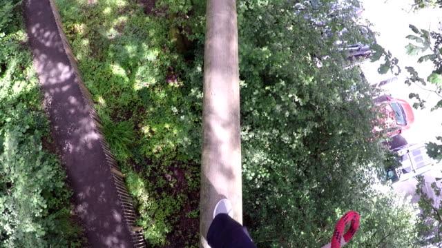 High Ropes/Überfall Golfplatz – Über die Planke gehen