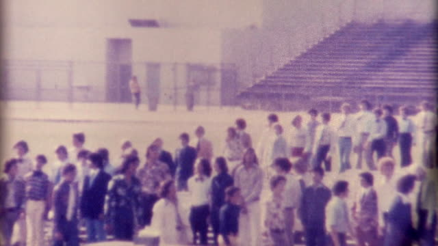 high school 1970's - marching stock videos & royalty-free footage