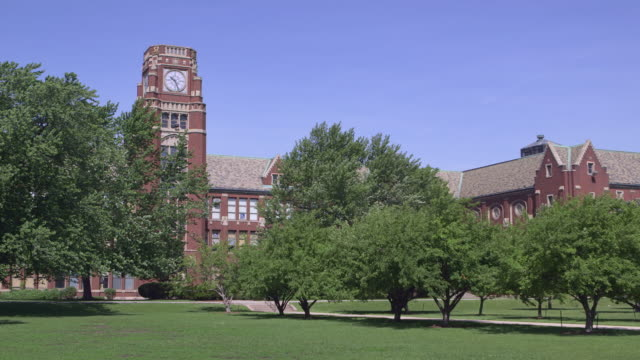 ws high school building summer - 高等学校点の映像素材/bロール