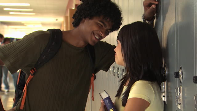 high school couple - see other clips from this shoot 1148 stock videos and b-roll footage
