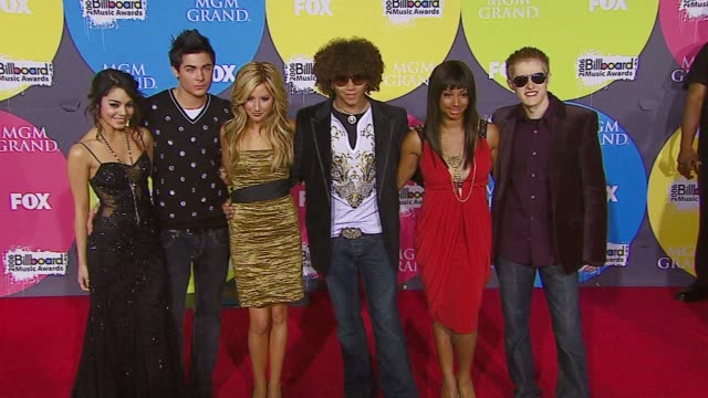 'High School Musical' Cast at the 2006 Billboard Music Awards at the MGM Grand Hotel in Las Vegas Nevada on December 4 2006