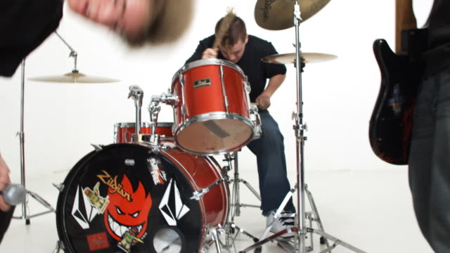 high school rock band - punk music stock videos & royalty-free footage