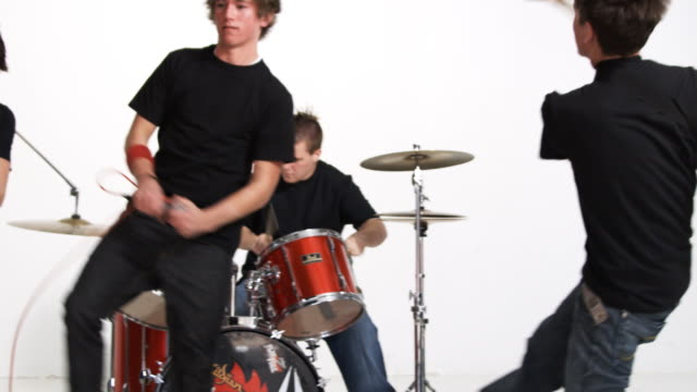 high school rock band - early rock & roll stock videos & royalty-free footage