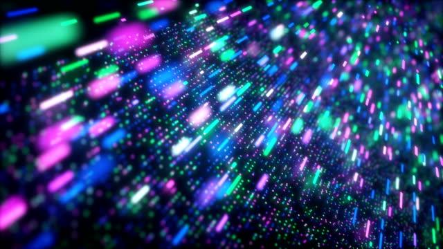 vidéos et rushes de high speed data flow background - frolow