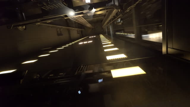 High Speed Elevator going up