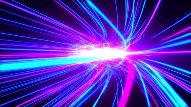 高速点灯トンネル モーション コース - スーパースローモーション点の映像素材/bロール