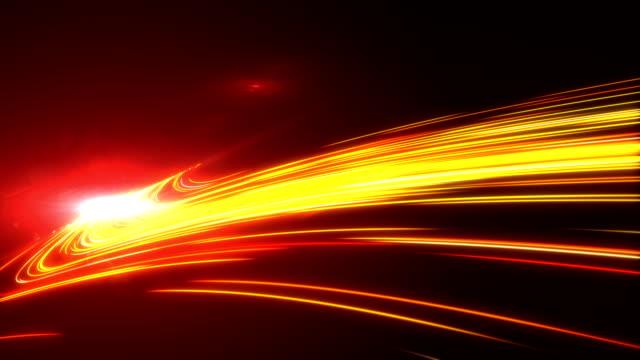 high-speed leuchtet tunnel bewegung wanderwege - lichtspur stock-videos und b-roll-filmmaterial