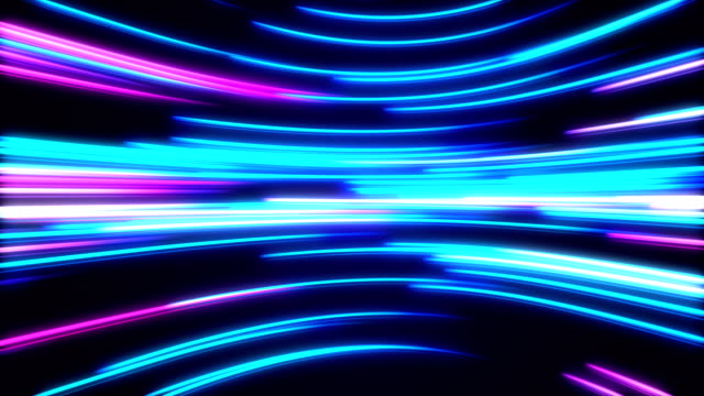 high speed lights tunnel motion trails - quantum computing stock videos and b-roll footage