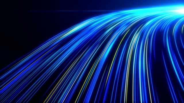 high speed lights tunnel motion trails - the way forward stock videos & royalty-free footage