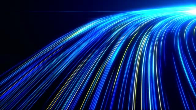 stockvideo's en b-roll-footage met hoge snelheid licht tunnel beweging routes - de weg voorwaarts