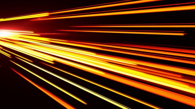 高速点灯トンネル モーション コース - 照明器具点の映像素材/bロール