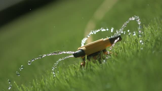 High speed Sprinkler at odd angle