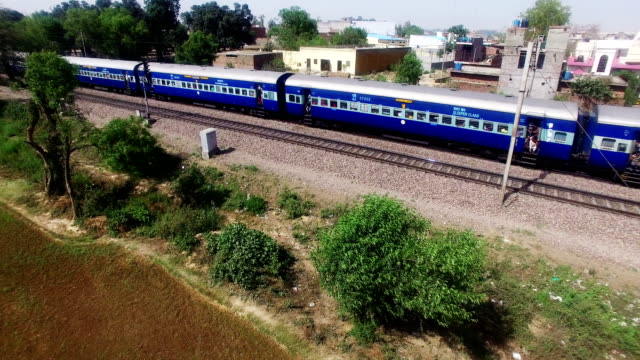 high speed train elevated view - diesel fuel stock videos and b-roll footage