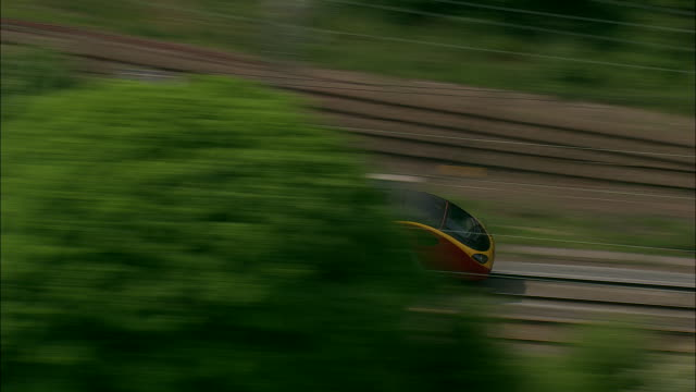 High Speed Train Near Rugeley