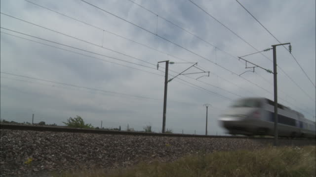 vidéos et rushes de high speed train - tgv - train