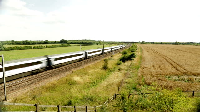 high speed train - train vehicle stock videos and b-roll footage