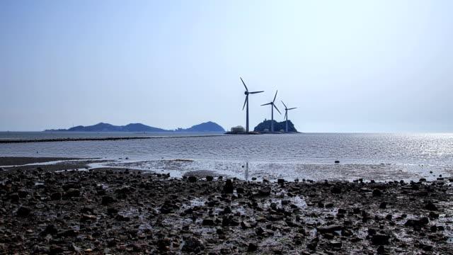 High tide scene at Tando port beach