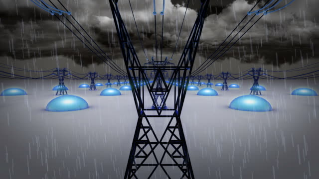 High Voltage Power Line (Loopable)
