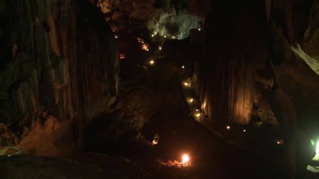 High Wall Of  Gua Tempurung Tunnel, KL, Malaysia