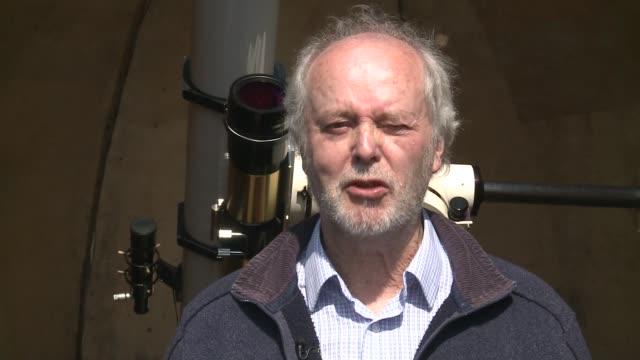 high wycombe photographer builds observatory in back garden david tyler interview sot - バッキンガムシャー点の映像素材/bロール