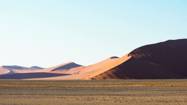 highest sand dune in namibia - namibian desert stock videos and b-roll footage