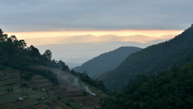 Highest viewpoint on Doi Ang Khang, Chiang Mai.