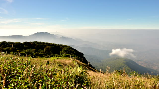 Highest viewpoint on Doi Inthanon, Chiang Mai.